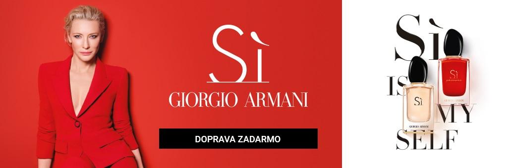 Armani Si Passione CTA doprava