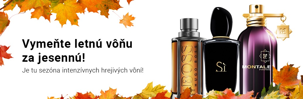 Najobľúbenejšie jesenné vône