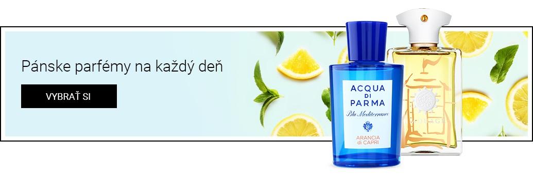 pánské niche parfémy na den