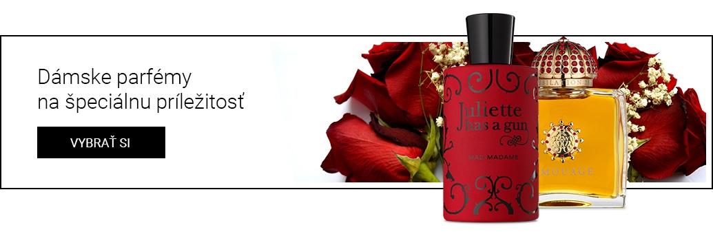 niche dámské parfémy na špeciálnu příležitosť