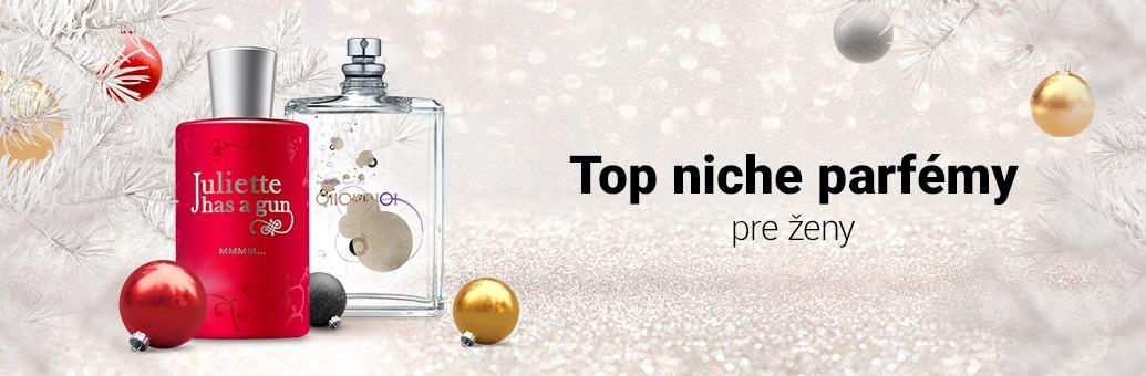 Top niche parfémy pre ženy