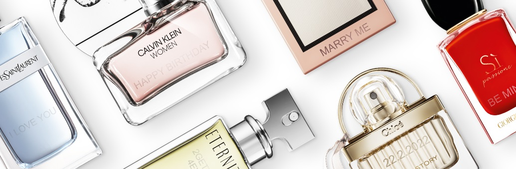 Gepersonaliseerde parfum met gravure