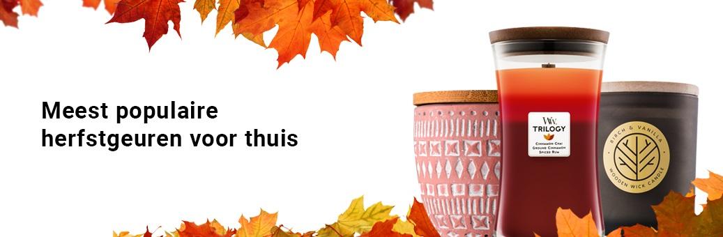 Nejoblíbenější podzimní vůně