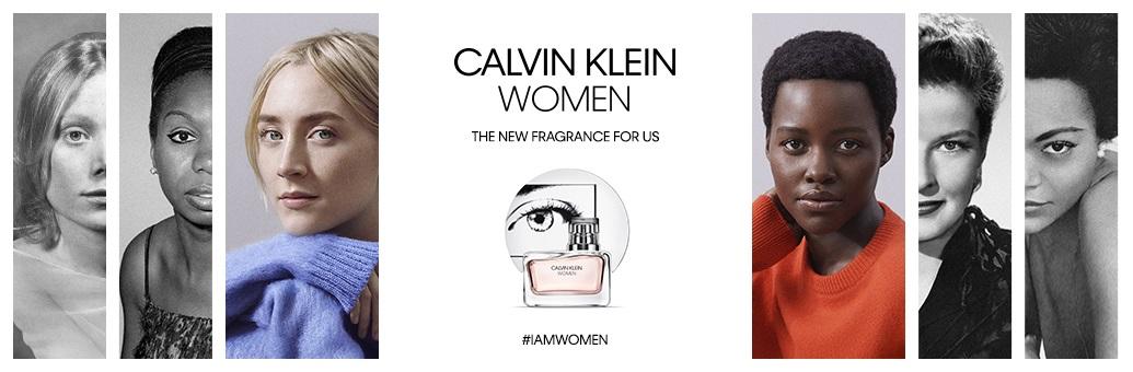 Calvin Klein Women - landing page header