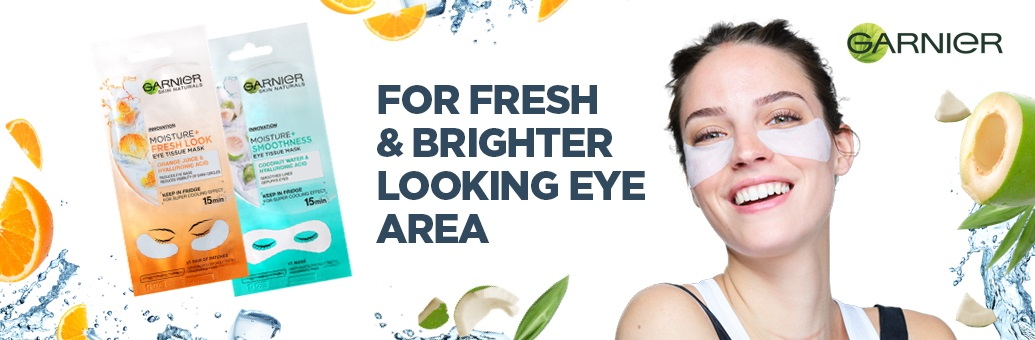 Garnier Eye Tissue Masks
