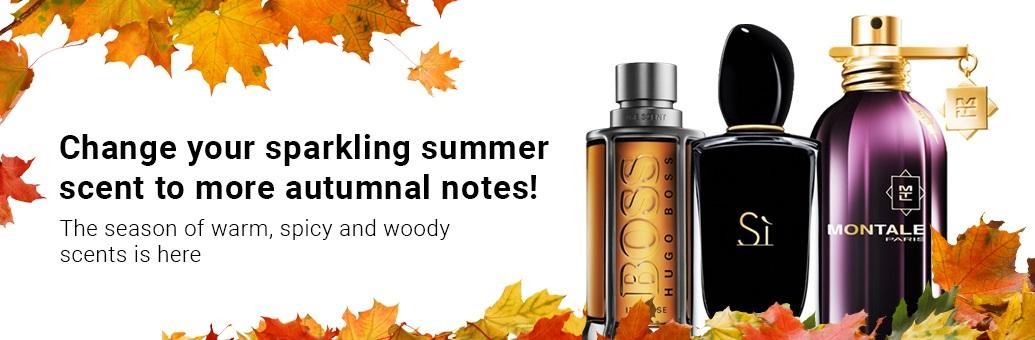 Most popular autumn fragrances