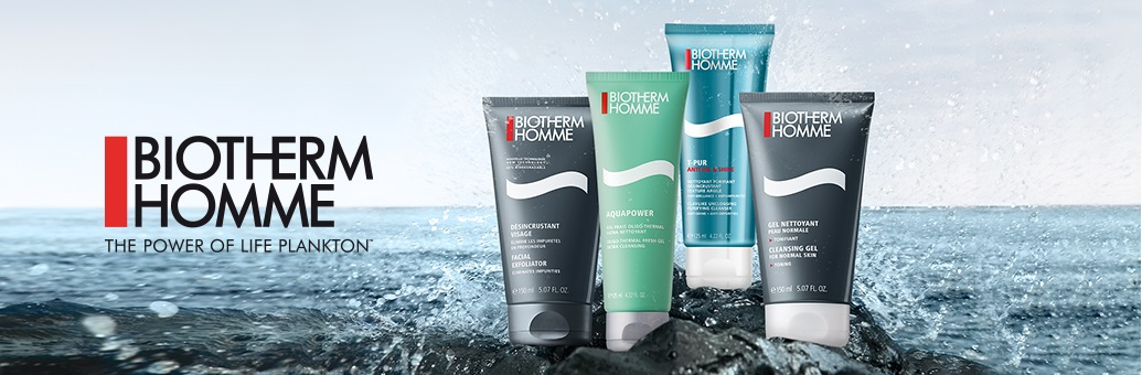 biotherm homme cleansers