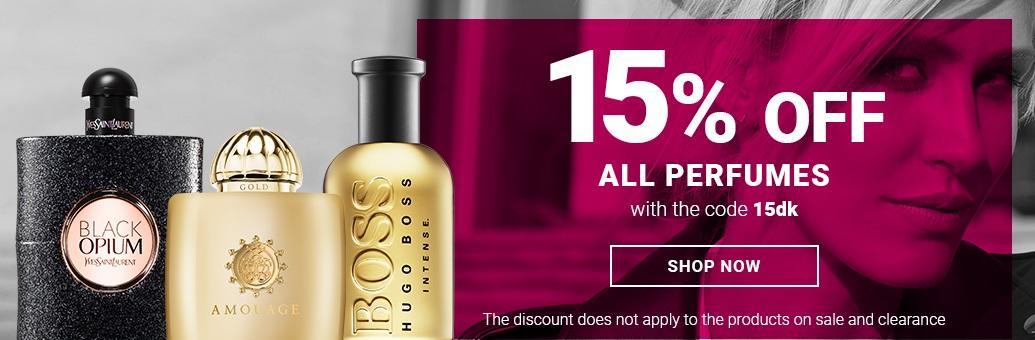 15 % parfemy