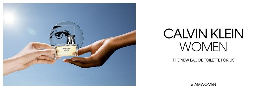 Calvin Klein Women EDT brand page banner