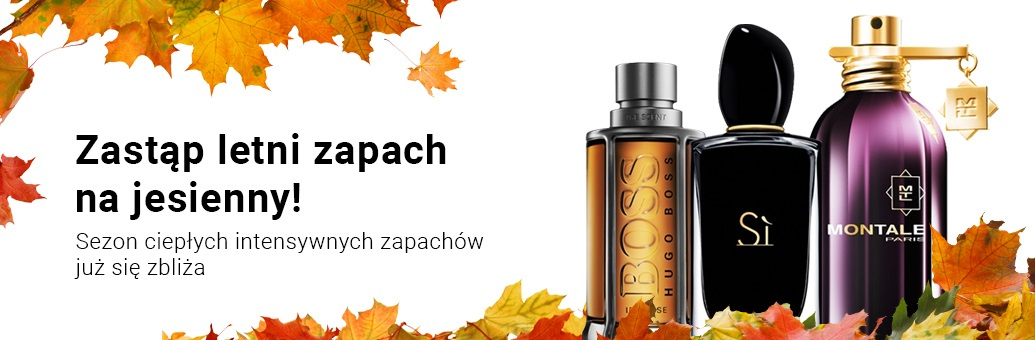 Najpopularniejsze zapachy na jesień