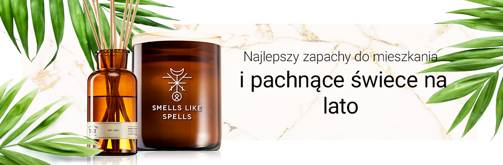 Najlepszy zapachy do mieszkania i pachnące świece na lato