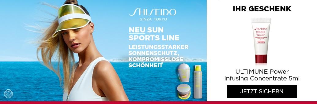 Shiseido Sun Sports Line