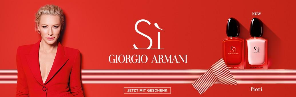 Giorgio Armani Top Lines Promotion