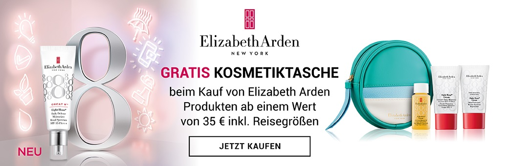 ELizabeth Arden Eight Hour Great 8 Promo