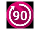 90 napos