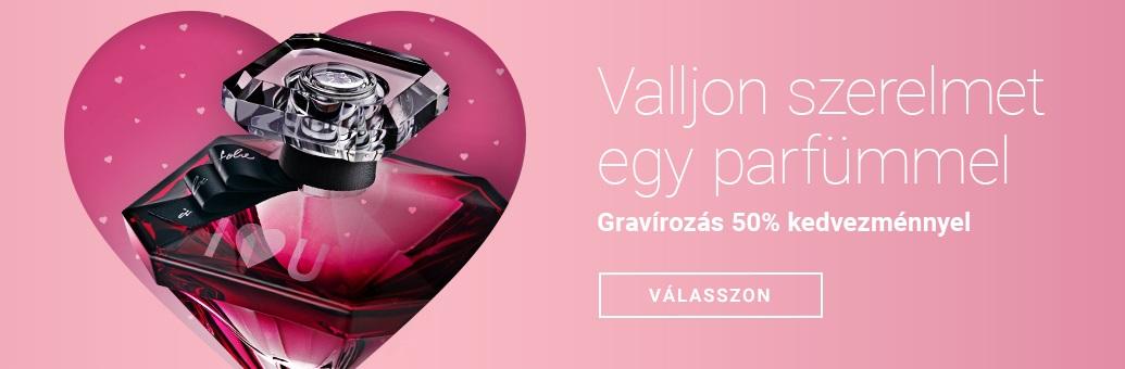 A mi Valentin-napi ajándékunk Önnek: Ingyen lecsókolhatatlan ajakrúzs 12 500 Ft feletti vásárláskor