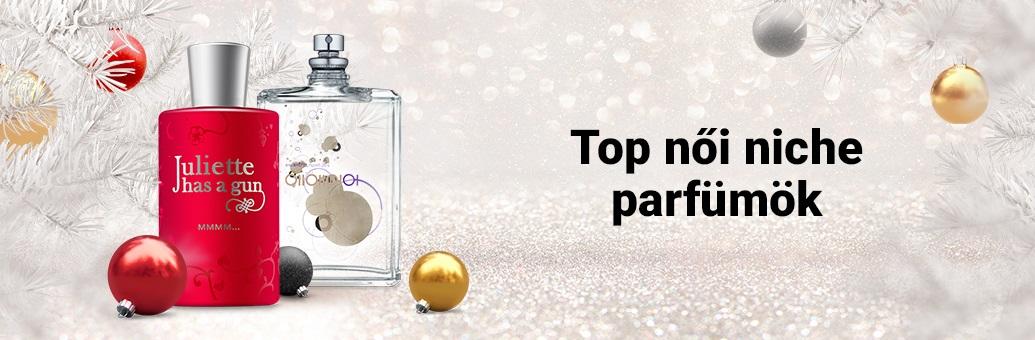 Top női niche parfümök karácsonyra