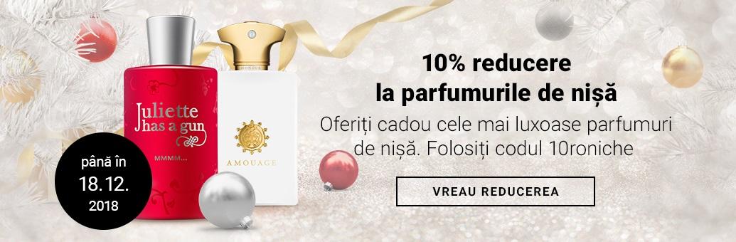 10% reducere la parfumurile de nișă