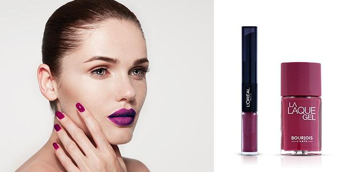 Ultra Violet Makeup trend