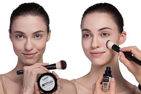 Wie trägt man Make-up richtig auf?