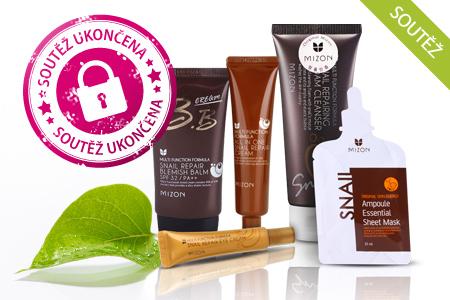 SOUTĚŽ: Už jste vyzkoušeli účinky hlemýždího extraktu? Ne? Tak soutěžte o tři balíčky luxusní kosmetiky Mizon!