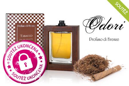 SOUTĚŽ: Vyhrajte jeden ze tří niche parfémů Odori Tabacco!