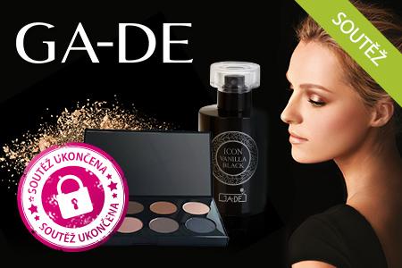 SOUTEŽ: Vyhrajte paletku očních stínů a parfém GA-DE!