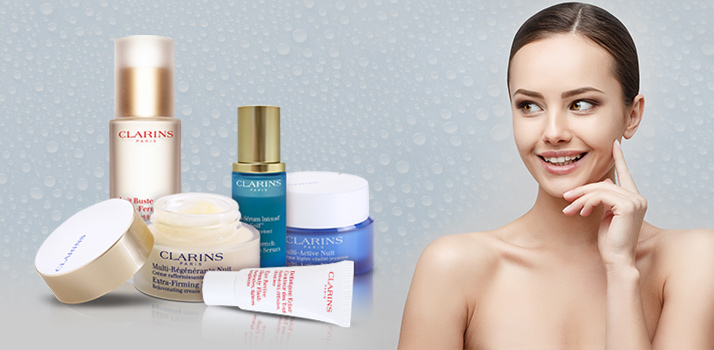 kosmetika Clarins