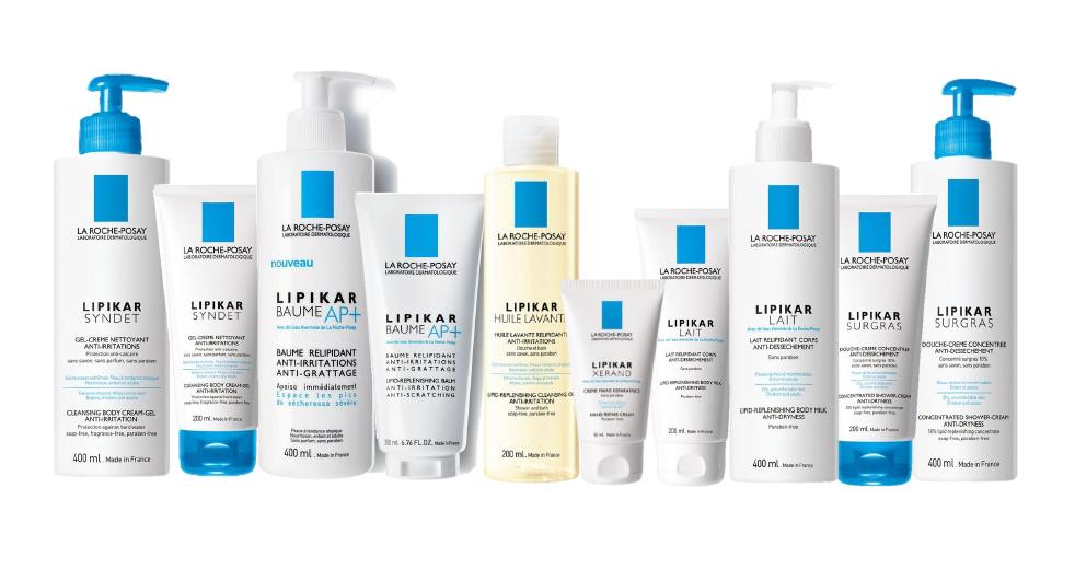 La Roche-Posay Lipikar sorozat
