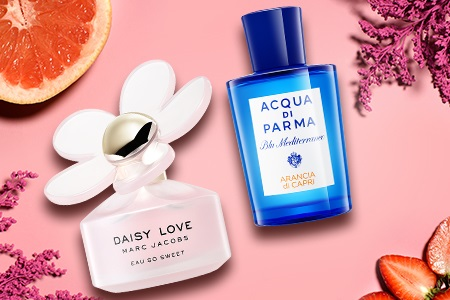 Trouvez votre parfum frais pour l'été !