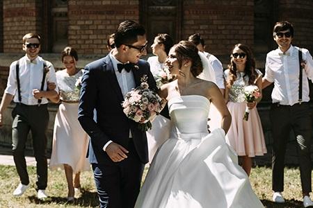 Svatební líčení, které vypadá skvěle na fotkách a vydrží všechno!