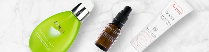 crème acné et traitement acné