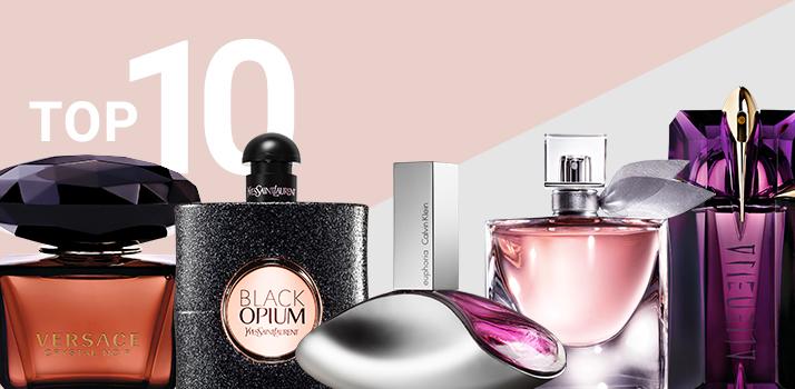 top 10 parfumuri pentru femei
