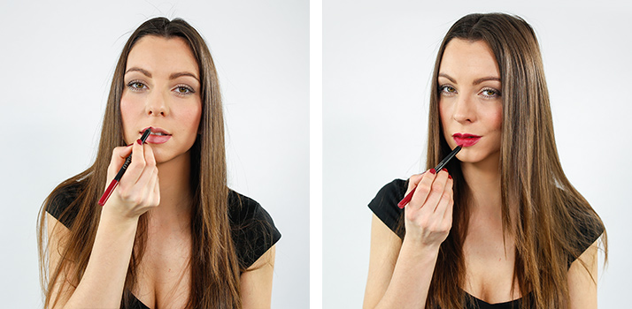 Контуриране на устните