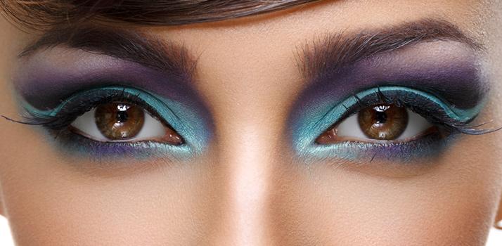буянні кольорів макіяжу очей