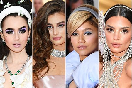 Make-up nach dem Vorbild der Met Gala New York Stars