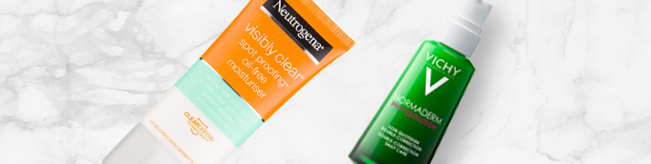 Neutrogena Visibly Clear Spot Proofing Vichy Normaderm Phytosolution