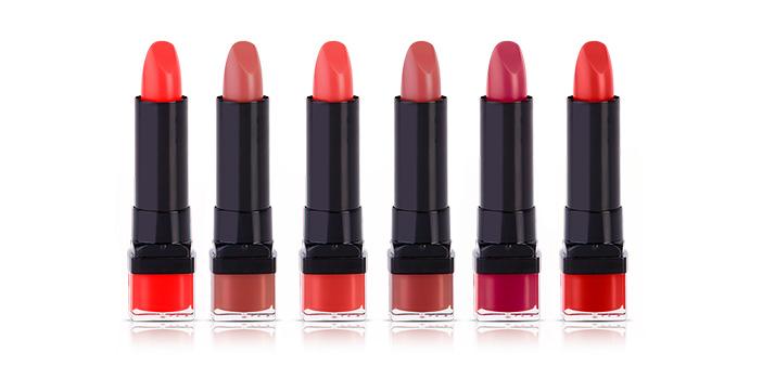 rouges à lèvres Bourjois
