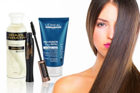 Brasilianisches Keratin für die Haare