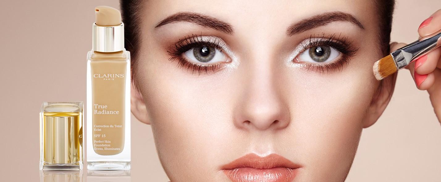 Makeup, Clarins, True Radiance