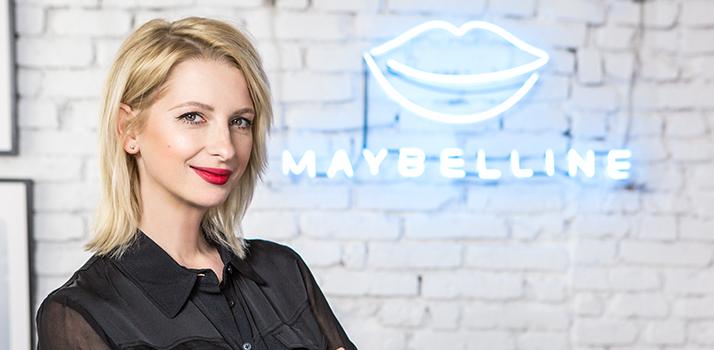 make-up artistka Margita pre Maybelline New York
