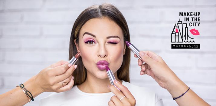Maybelline Makeup In The City Monika Bagárová