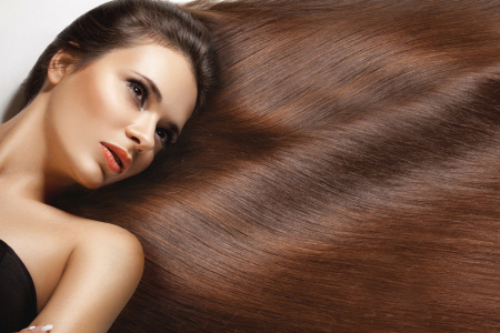 оформяне на косата преди лягане
