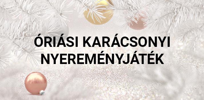 3aac3582cf Kezdődik az adventi naptár és az óriási karácsonyi nyereményjáték ...