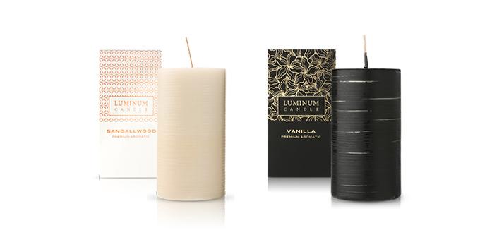 vonné sviečky Luminum Candles
