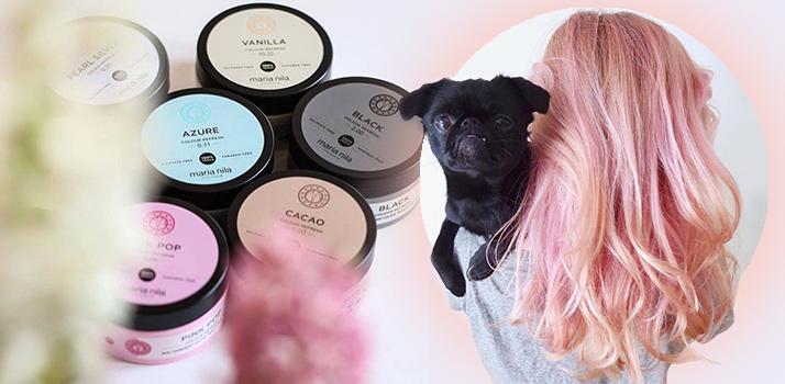 zmývateľné farby na vlasy Maria Nila