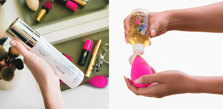 nettoyer la beauty blender