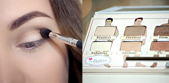 líčenie očí s theBalm