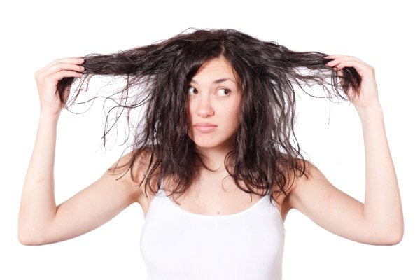 Száraz és sérült haj