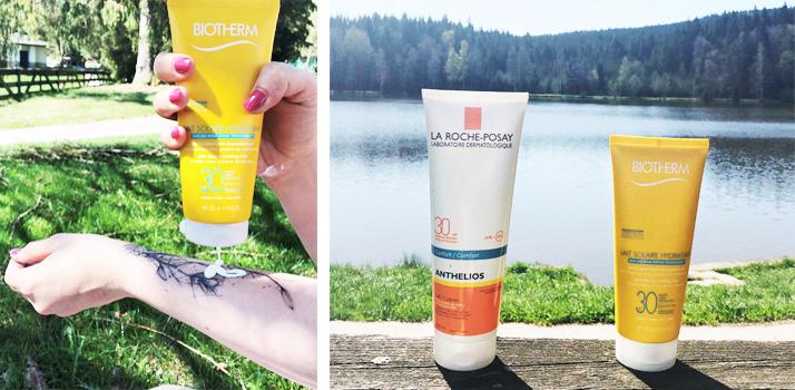 test crèmes solaires